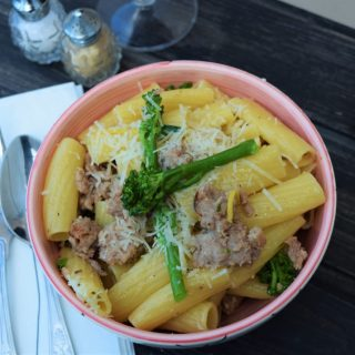 Pasta-lemon-broccoli-sausage-recipe-lucyloves-foodblog