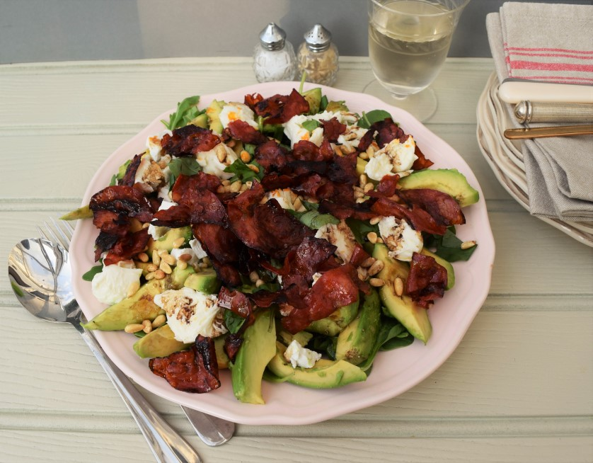 Avocado-pine-nuts-chorizo-salad-recipe-lucyloves-foodblog