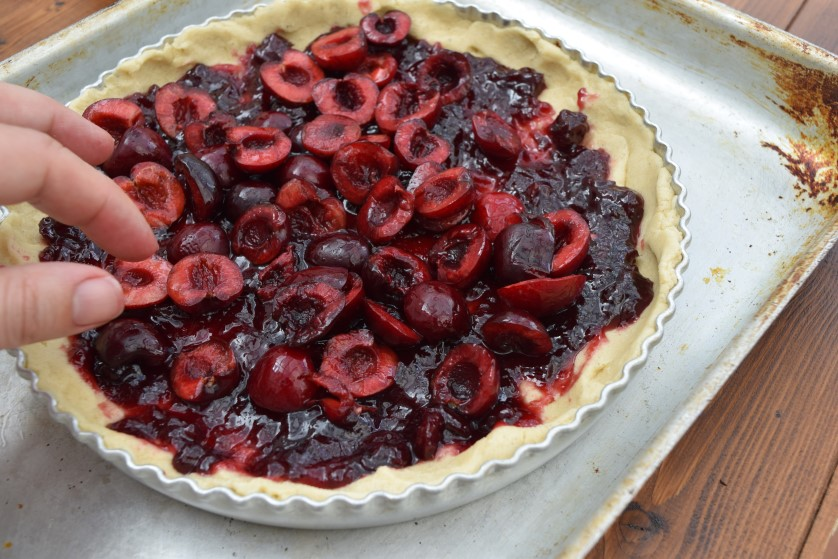 Shortbread-cherry-tart-recipe-lucyloves-foodblog