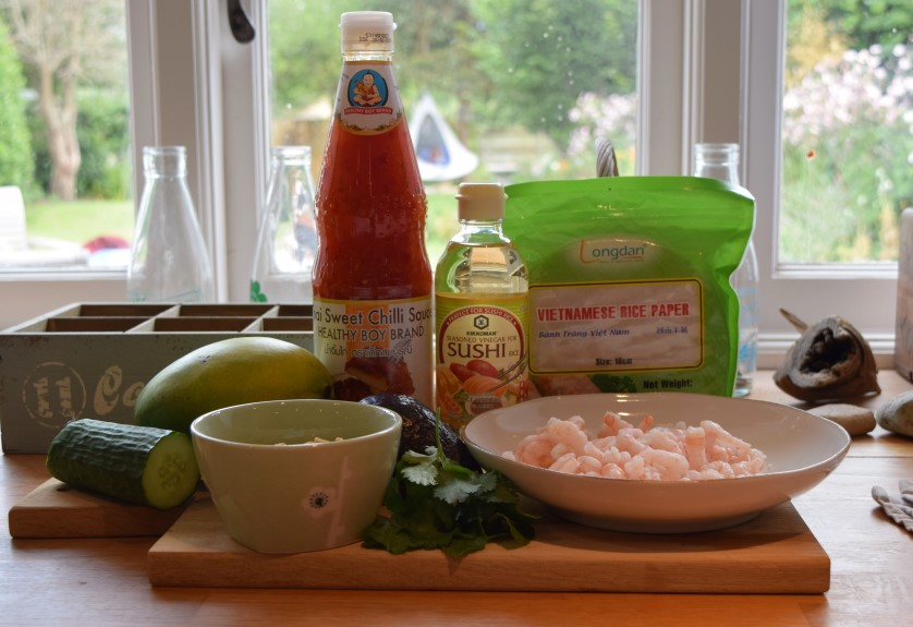 Summer-prawn-rolls-chilli-dip-recipe-lucyloves-foodblog