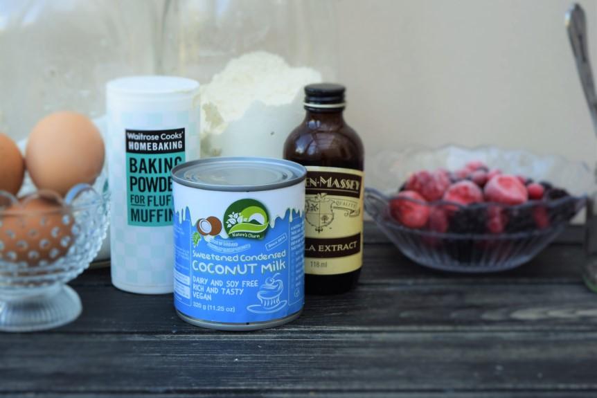 Condensed-vanilla-milk-cake-recipe-chia-seed-jam-lucyloves-foodblog