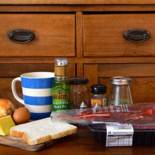 Chorizo-meatballs-cheese-polenta-chips-recipe-lucyloves-foodblog
