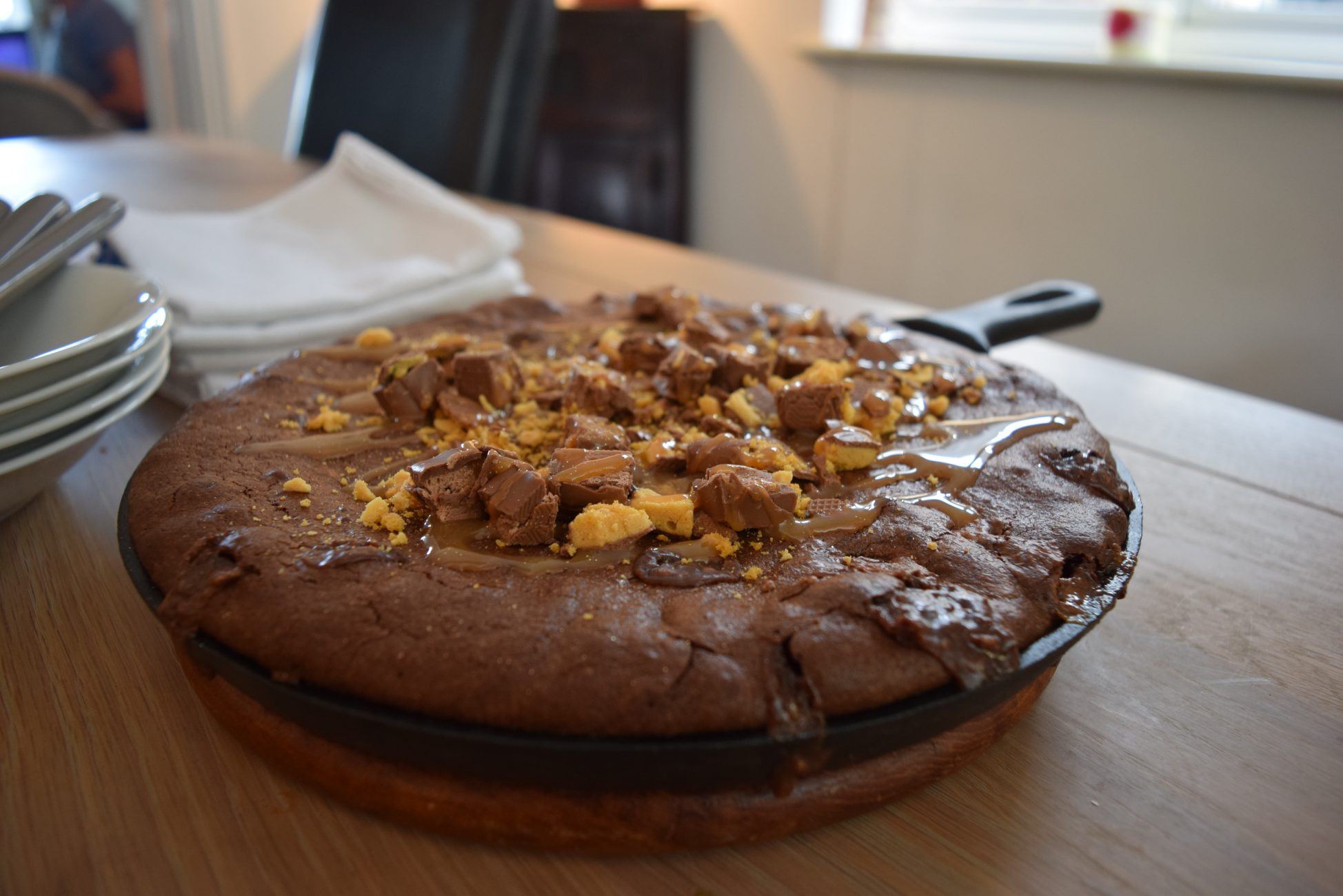 Hot-toffee-brownie-pudding-recipe-lucyloves-foodblog