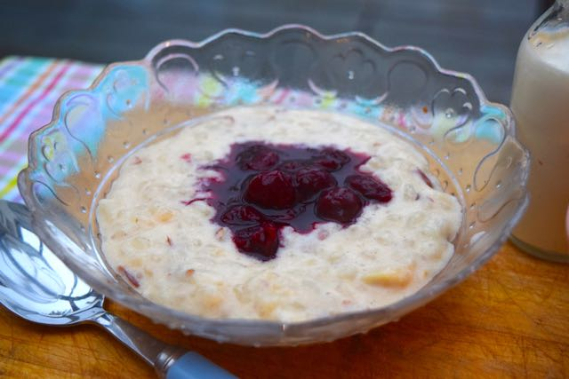 Almond-slow-cooker-rice-pudding-recipe-lucyloves-foodblog