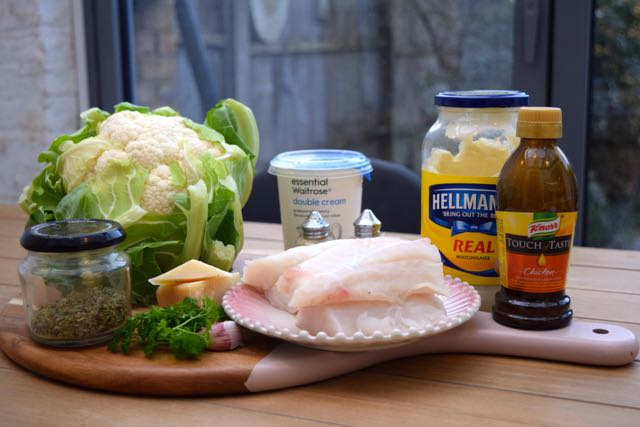 Garlic-parmesan-fish-cauliflower-puree-recipe-lucyloves-foodblog