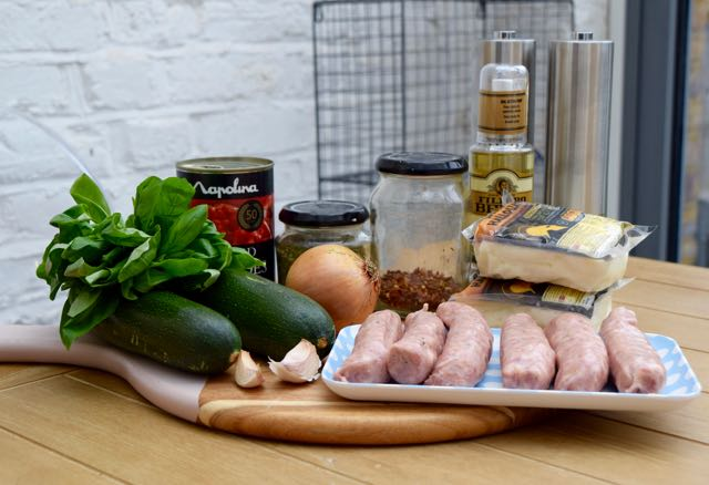 Sausage-halloumi-bake-recipe-lucyloves-foodblog