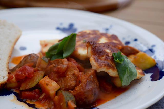 Sausage-halloumi-bake-recipe-lucyloves-foodblog
