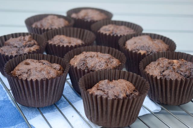 Healthy-Chocolate-Banana-muffins-recipe-lucyloves-foodblog