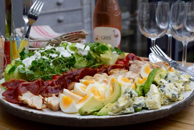 Cobb-salad-blue-cheese-dressing-recipe-lucyloves-foodblog