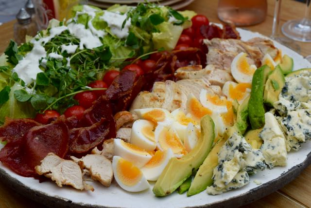 Cobb-salad-blue-cheese-dressing-lucyloves-foodblog