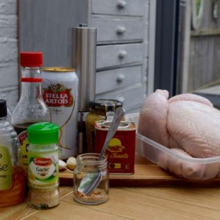 Garlic-honey-beer-can-chicken-recipe-lucyloves-foodblog