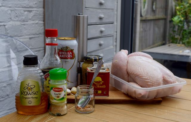 Garlic-honey-beer-can-chicken-recipe-lucyloves-foodblog