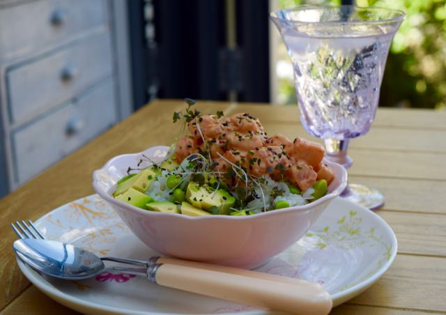 Salmon-poke-rice-bowl-recipe-lucyloves-foodblog
