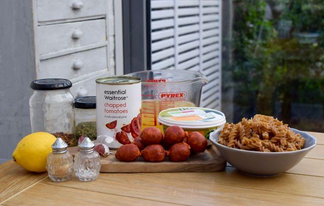 One-pot-chorizo-pasta-recipe-lucyloves-foodblog