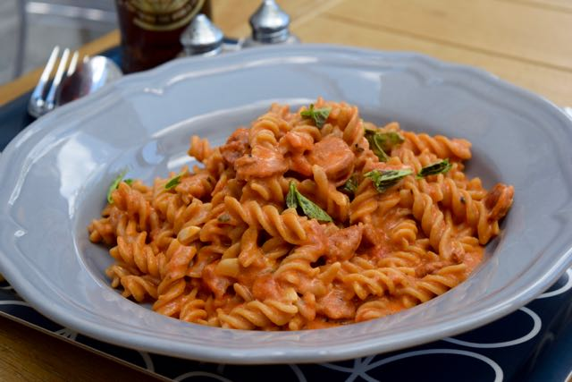 One-pot-chorizo-pasta-recipe-lucyloves-foodblog