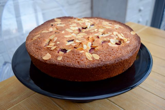 Coconut-almond-plum-cake-recipe-lucyloves-foodblog