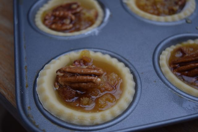 Tiny-treacle-pecan-tarts-recipe-lucyloves-foodblog