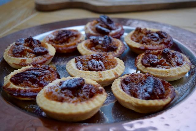 Tiny-pecan-treacle-tarts-recipe-lucyloves-foodblog