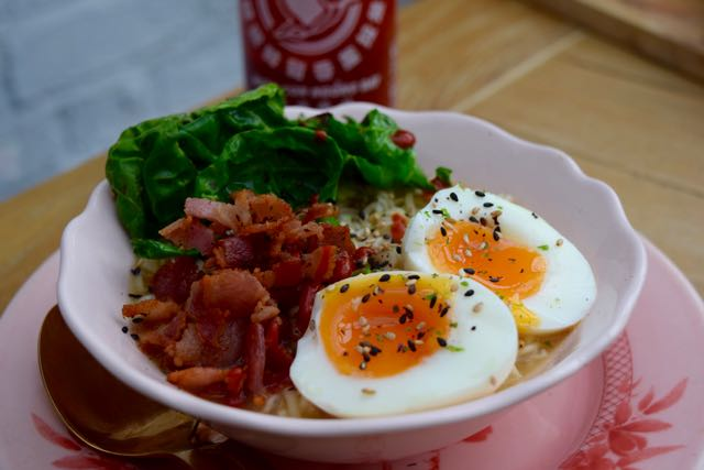 Egg-bacon-noodles-recipe-lucyloves-foodblog
