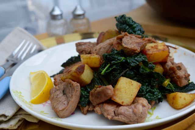 Lamb with Cavolo Nero