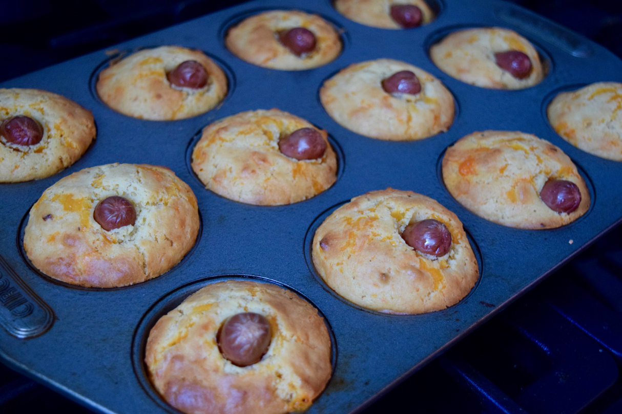 Corn-dog-muffins-recipe-lucyloves-foodblog