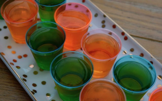 Party Peach Schnapps Jelly Shots