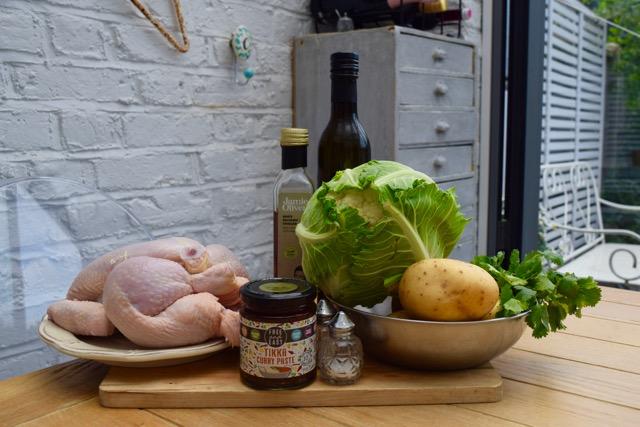 Tikka-roasted-chicken-traybake-recipe-lucyloves-foodblog