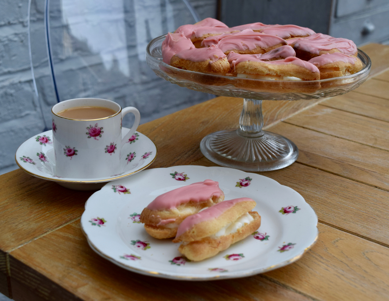 Tiny-eclairs-recipe-lucyloves-foodblog