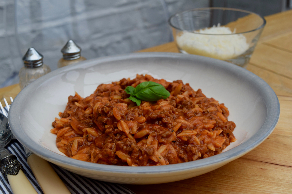Instant-pot-orzo-bolognese-recipe-lucyloves-foodblog
