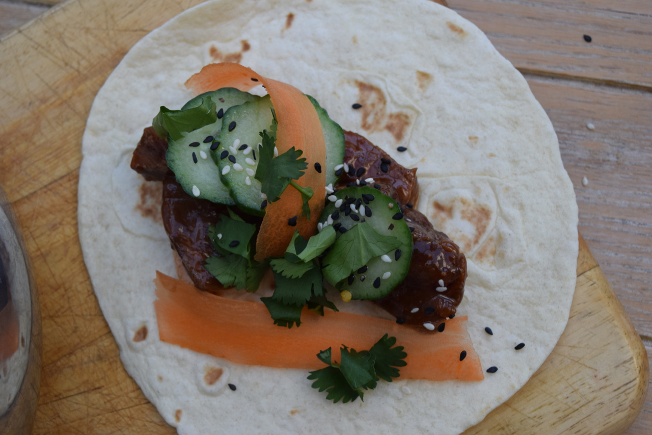 Korean-steak-tacos-pickled-cucumber-recipe-lucyloves-foodblog
