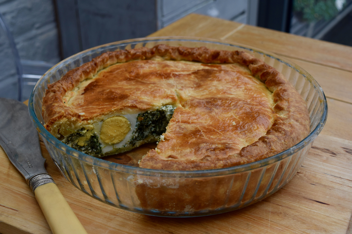 Ricotta-spinach-egg-italian-easter-tart-recipe-lucyloves-foodblog