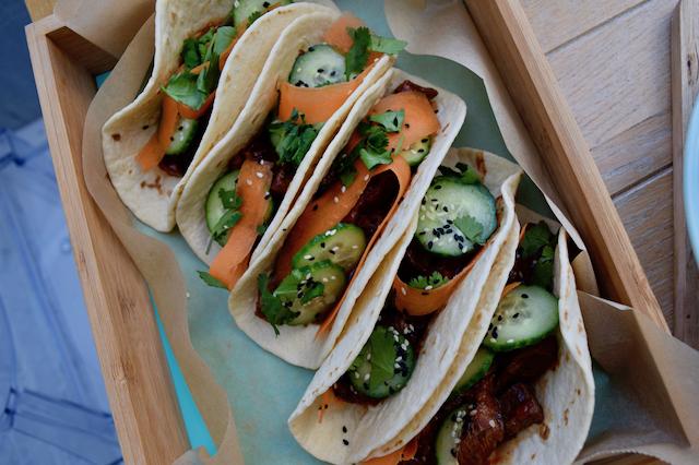 Korean-steak-tacos-pickled-cucumber-recipe-lucyloves-foodblog