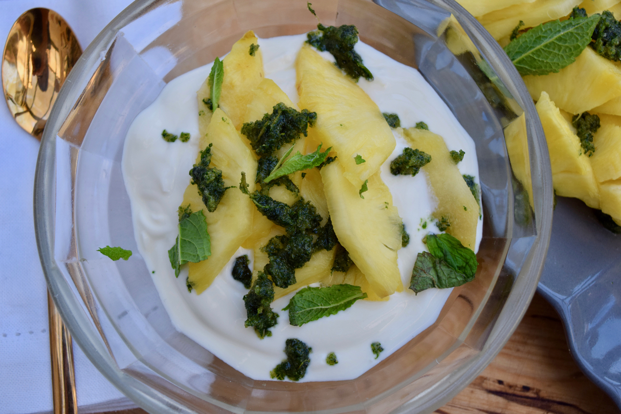 Pineapple-mint-sugar-recipe-lucyloves-foodblog