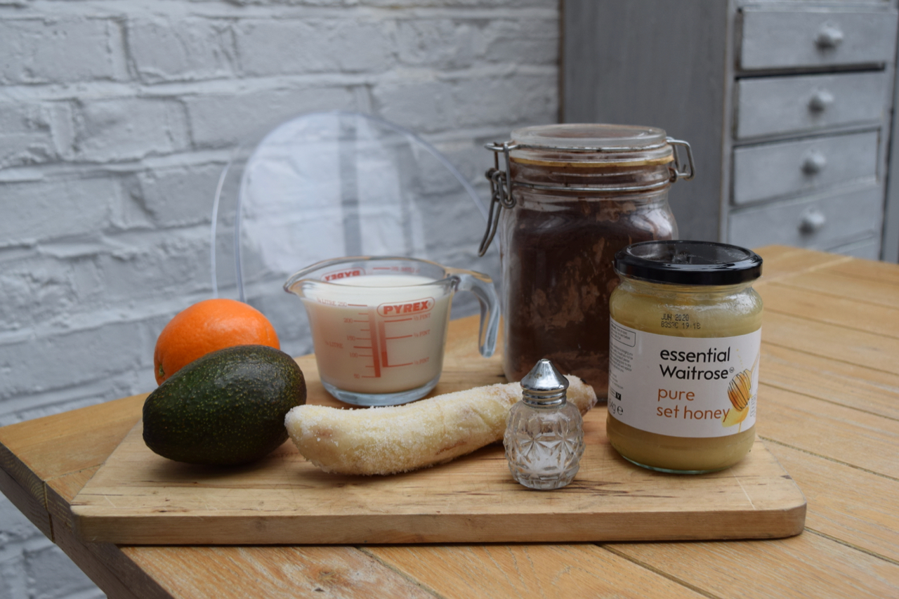 Chocolate-orange-smoothie-recipe-lucyloves-foodblog