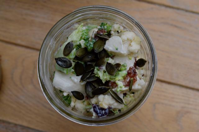Raw-cauliflower-broccoli-salad-recipe-lucyloves-foodblog