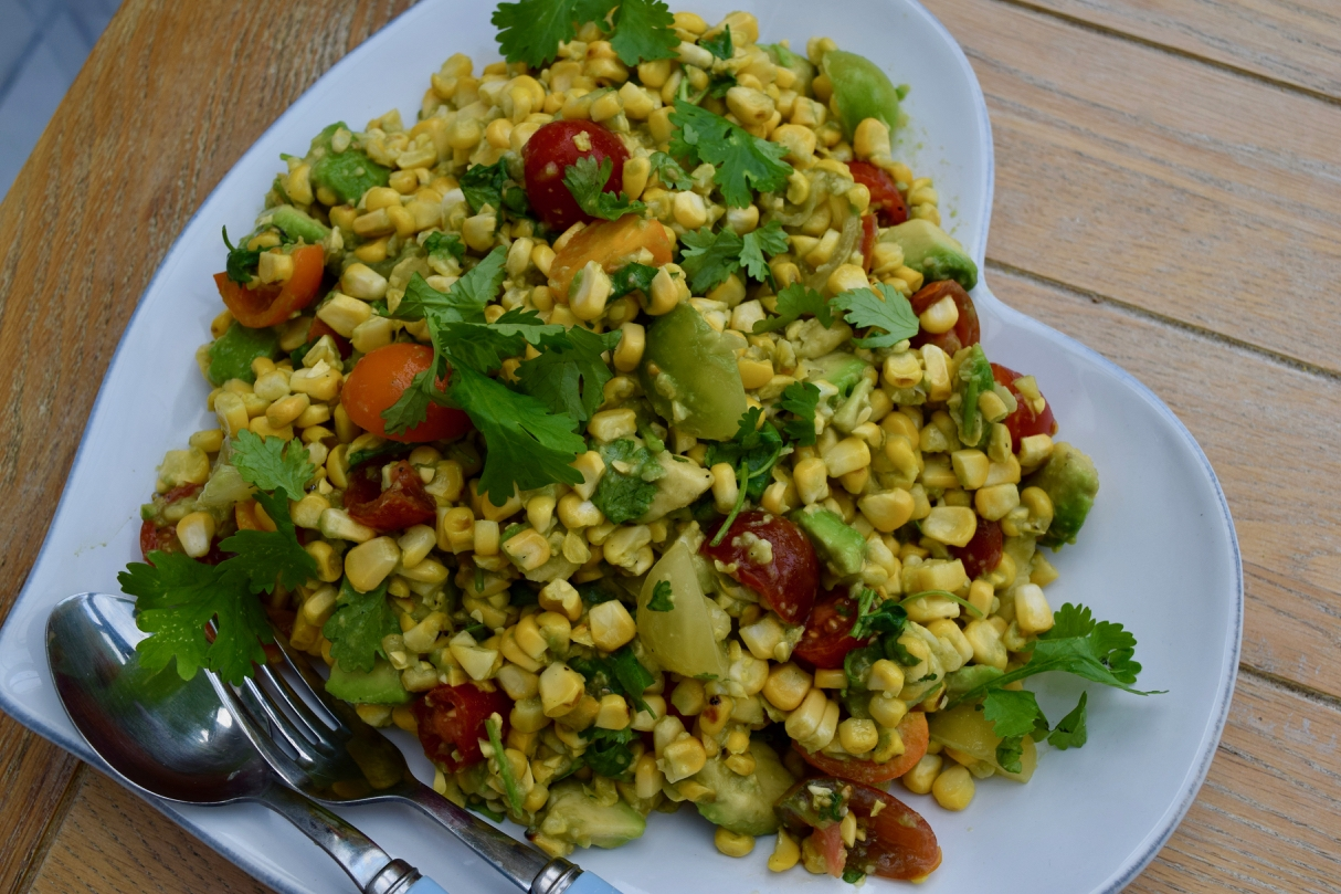 Griddled-corn-avocado-salad-recipe-lucyloves-foodblog