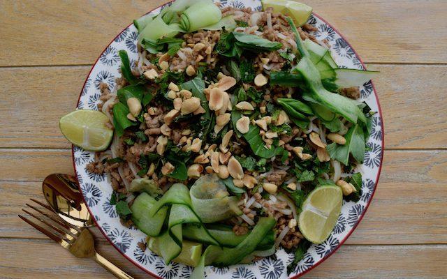 Summer Pork with Rice Noodles