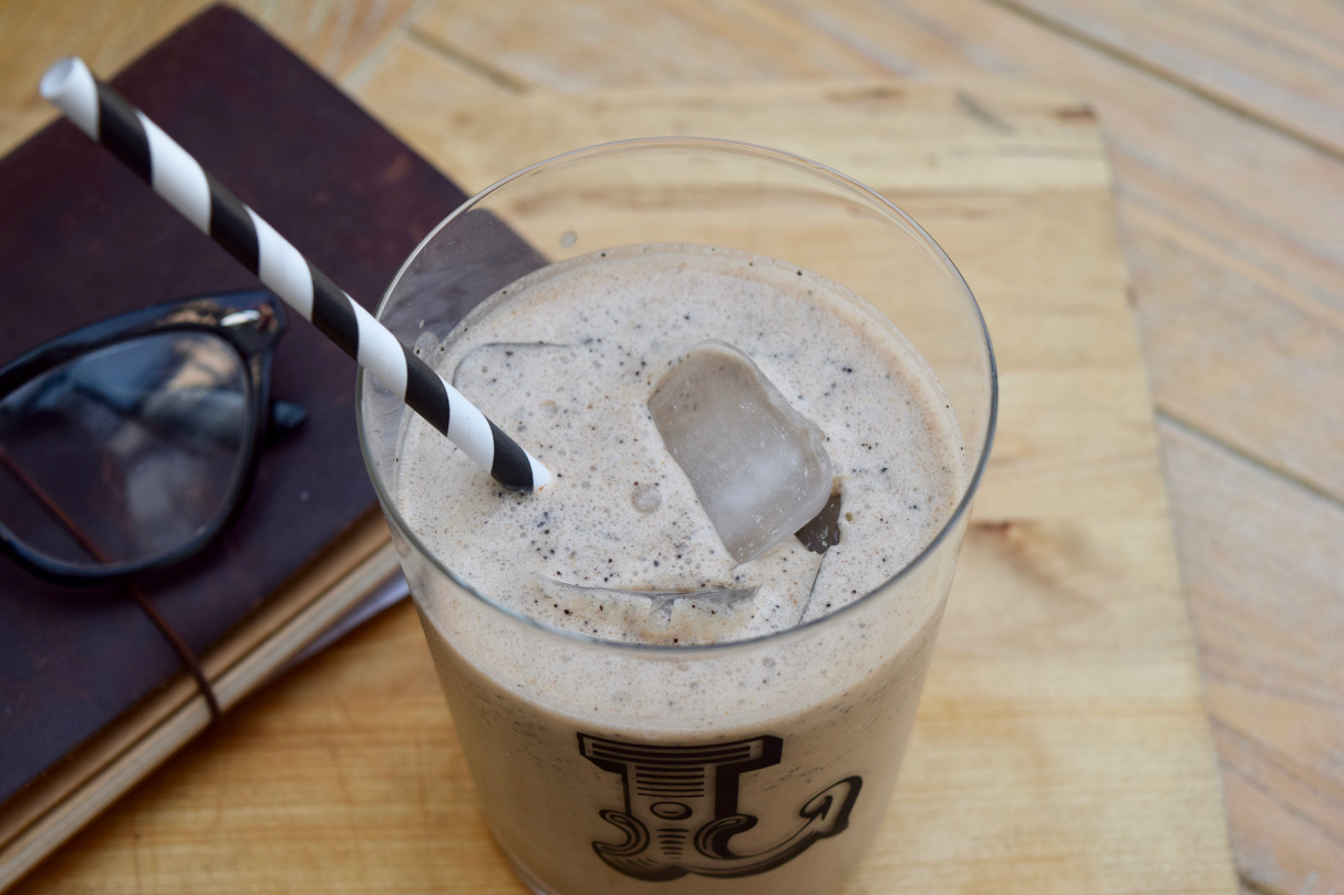 Coffee Breakfast Shake recipe from Lucy Loves Food Blog