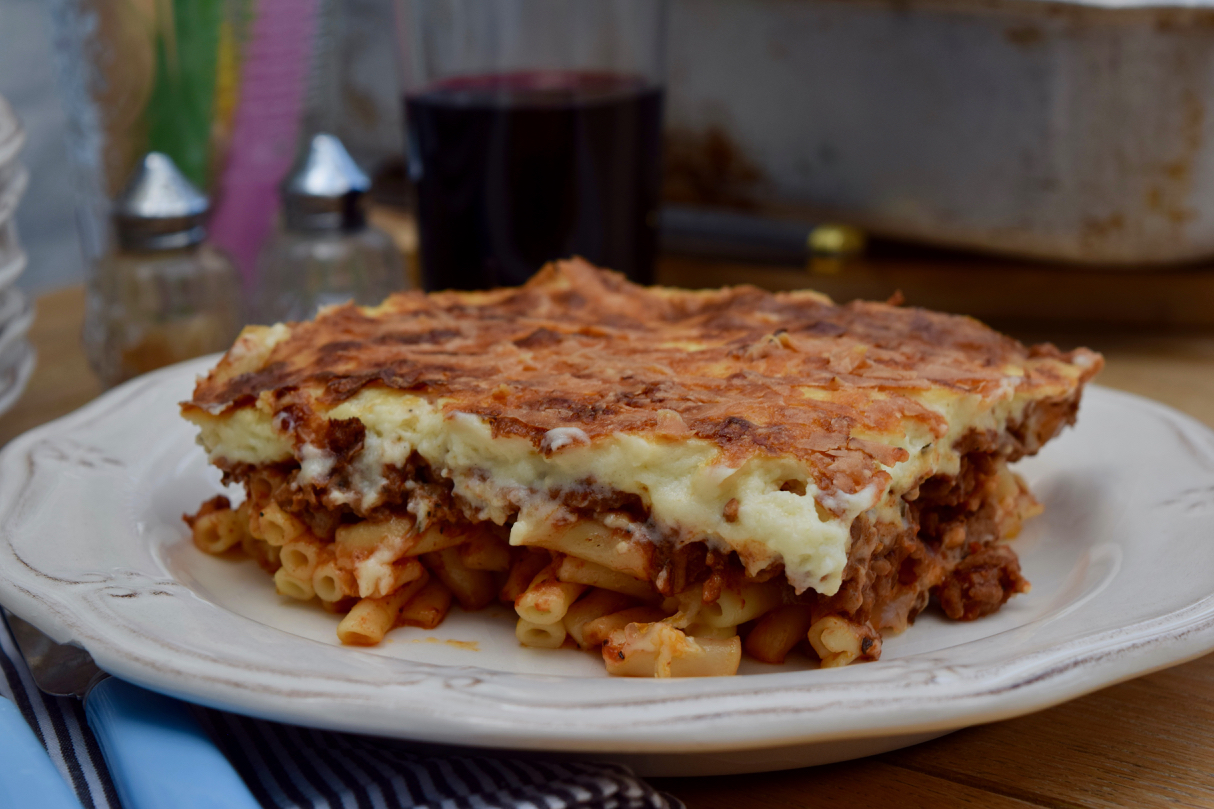 Pastitsio recipe from Lucy Loves
