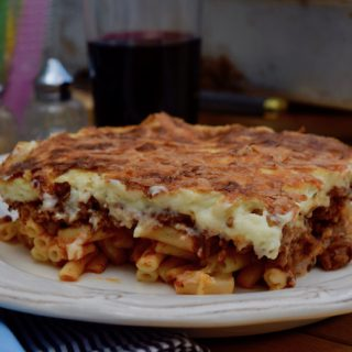 Pastitsio recipe from Lucy Loves Food Blog