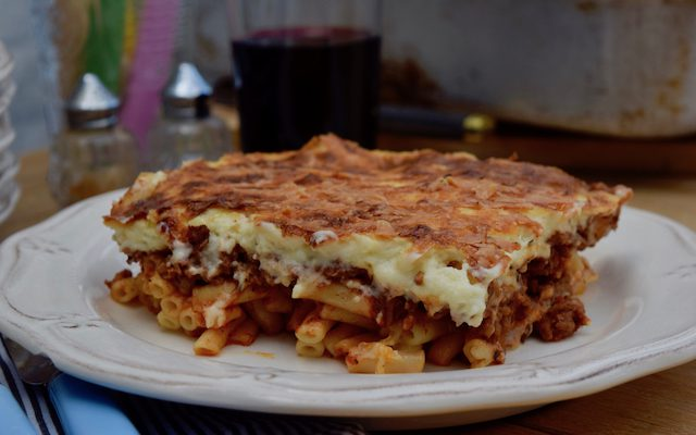 A Pastitsio for the Whole of Greece