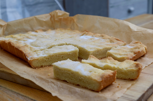 Clotted Cream Shortbread recipe from Lucy Loves Food Blog