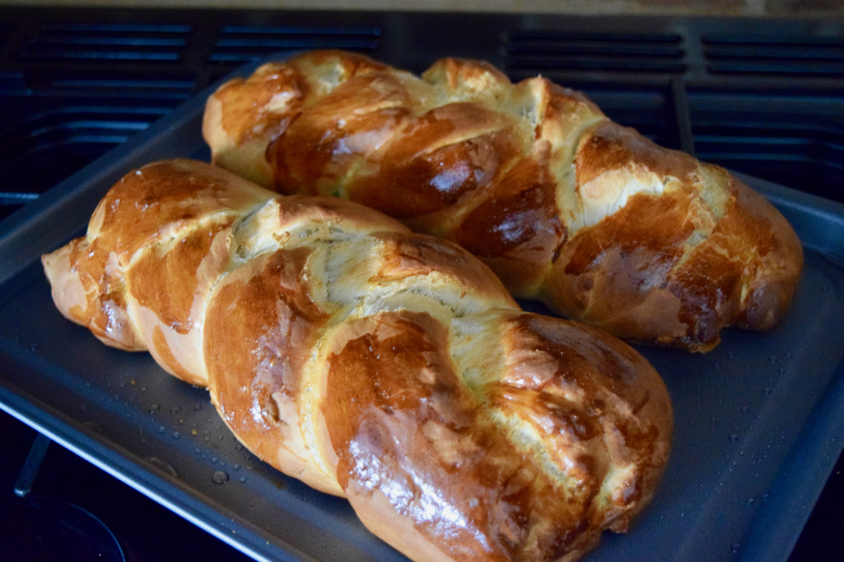 Challah Bread recipe from Lucy Loves Food Blog