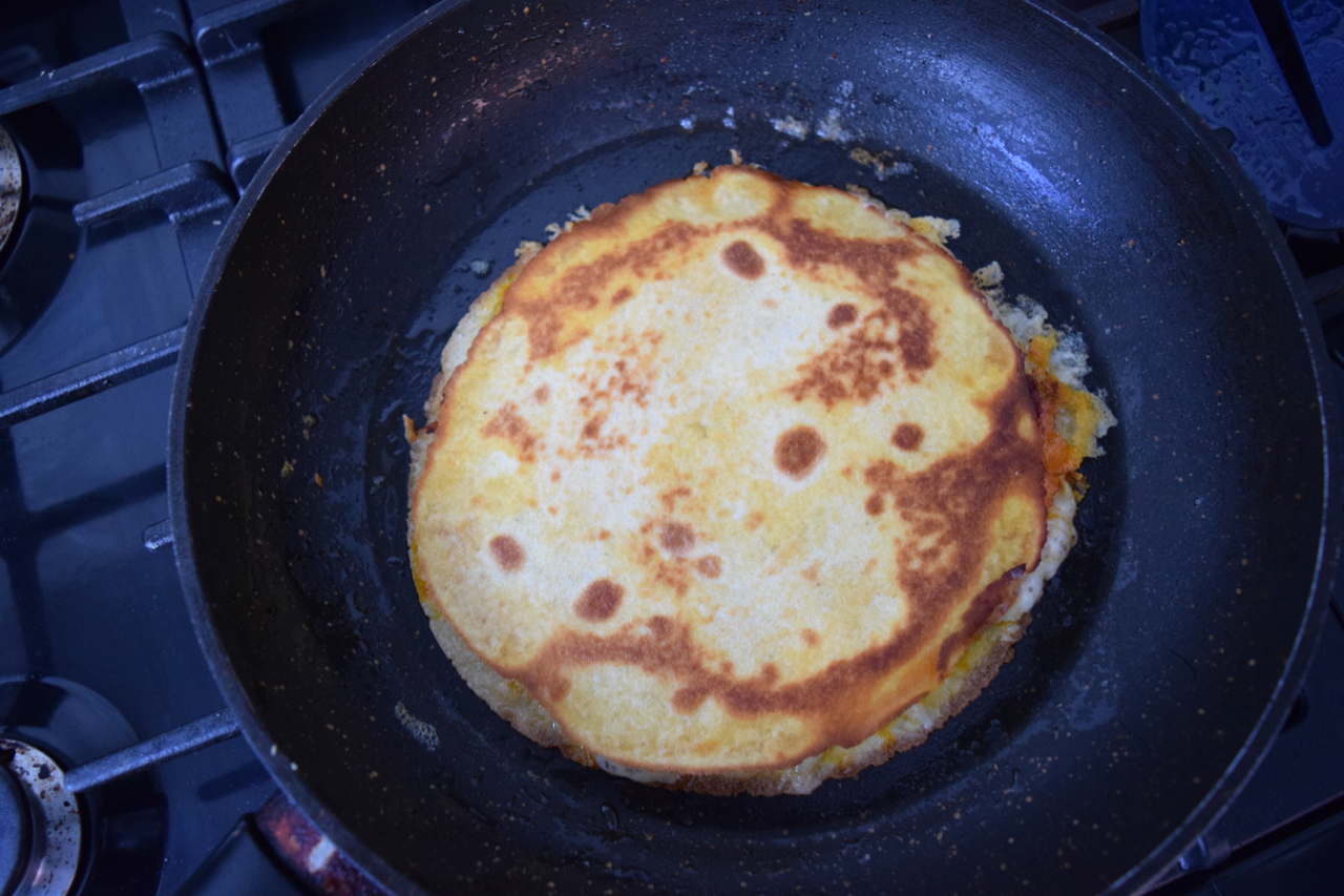Fried Egg Quesadilla recipe from Lucy Loves Food Blog