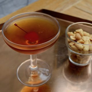 Manhattan Cocktail recipe from Lucy Loves Food Blog