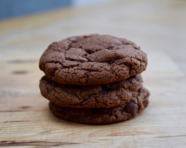 Nutella Cookies recipe from Lucy Loves Food Blog