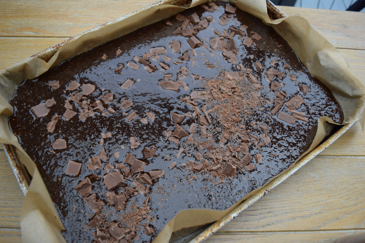 Chocolate Chunk Gingerbread recipe from Lucy Loves Food Blog