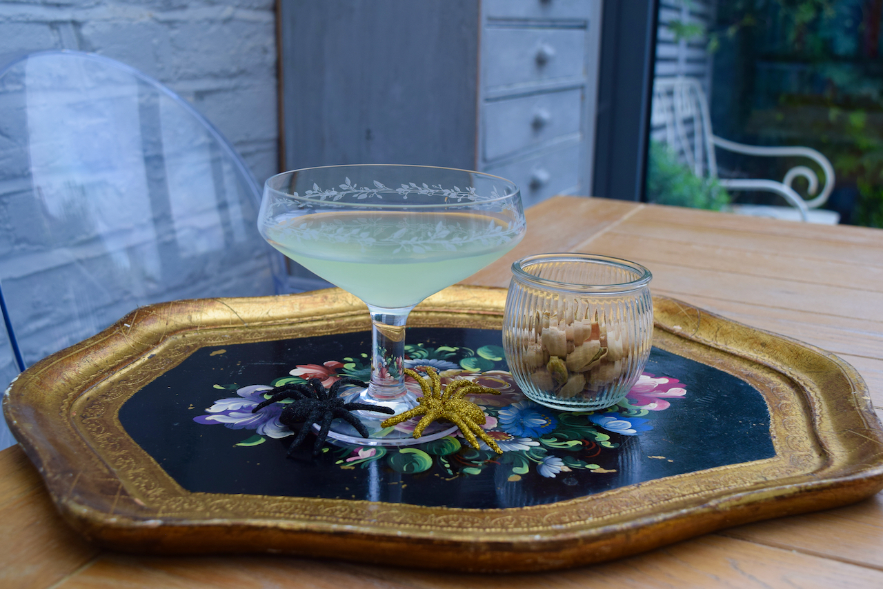 Spooky Apple Martini recipe from Lucy Loves Food Blog