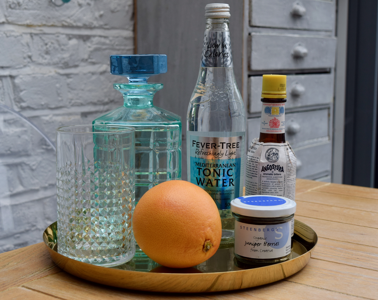 Spanish Gin and Tonic recipe from Lucy Loves Food Blog