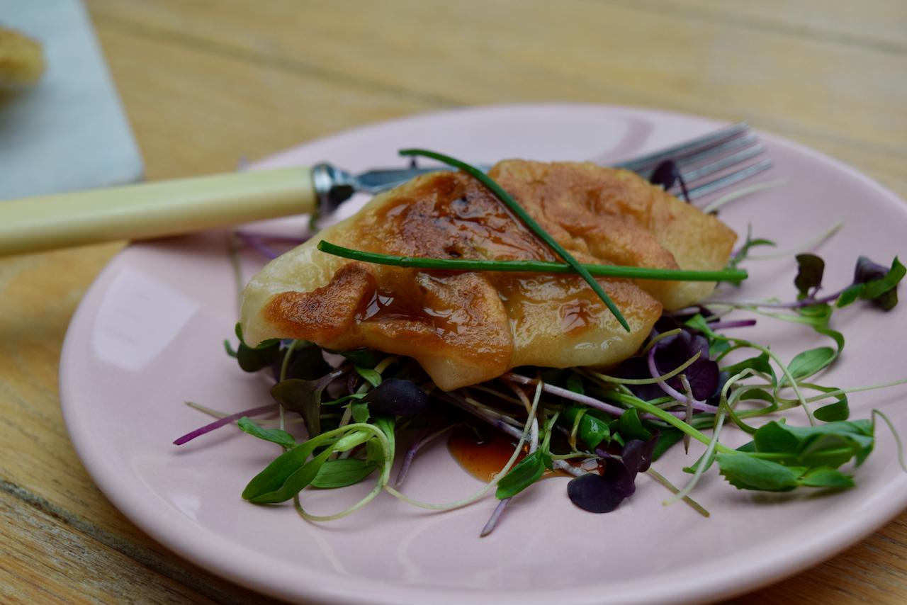 SImple Pork Dumplings recipe from Lucy Loves Food Blog